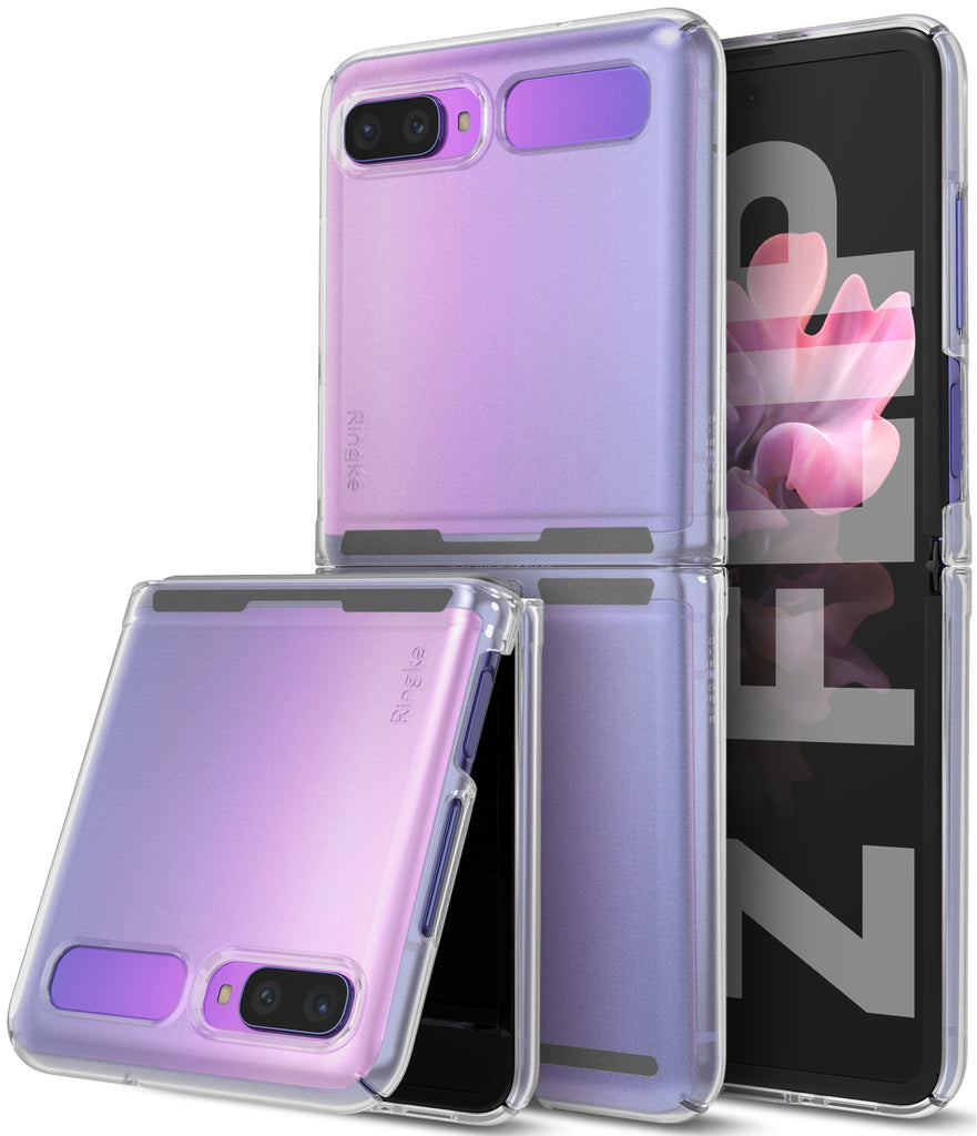 samsung galaxy z flip case matte clear