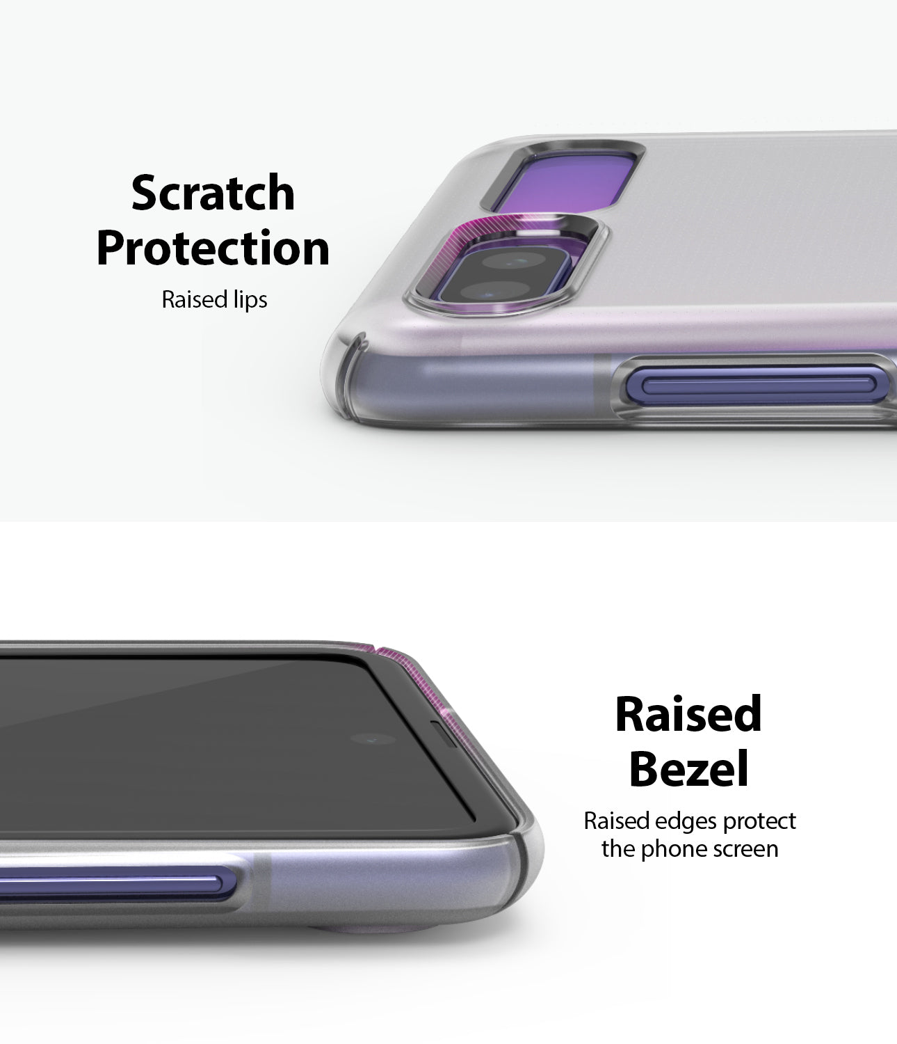 samsung galaxy z flip case scratch resistant and raised bezel