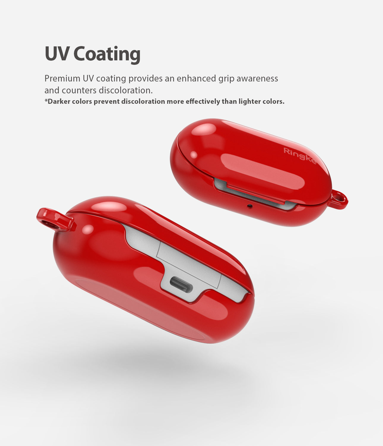 premium uv coating provides an enhanced grip awareness and counters discoloration