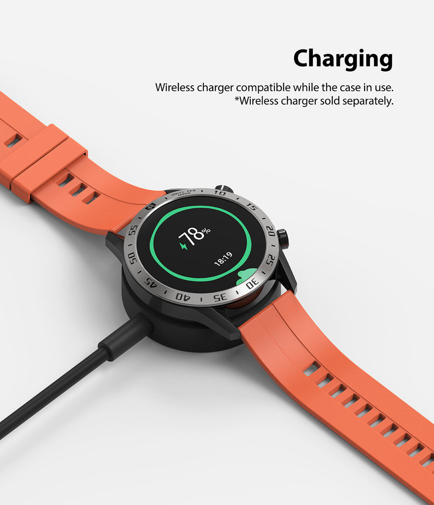 wireless charging compatible with the bezel styling on