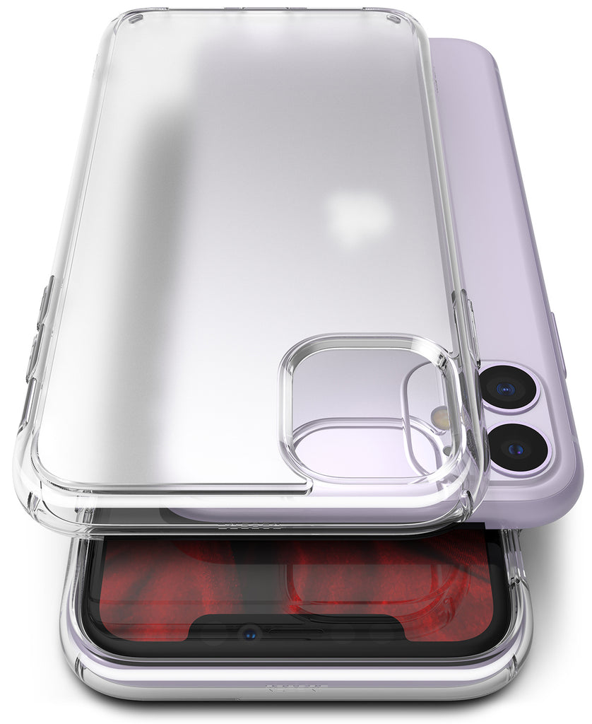 Ringke Fusion Matte for iPhone 11 Anti-Fingerprint Frosted PC Case Clear