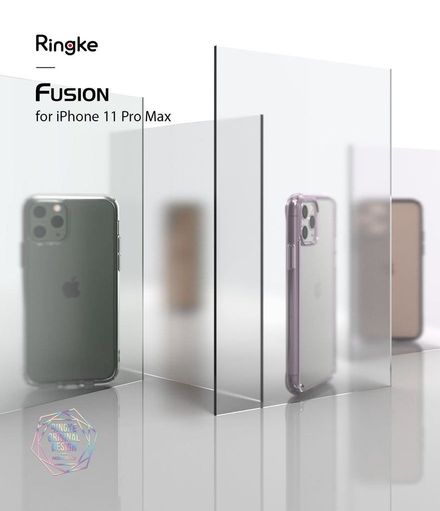 Ringke Fusion Matte Compatible with iPhone 11 Pro Max Case
