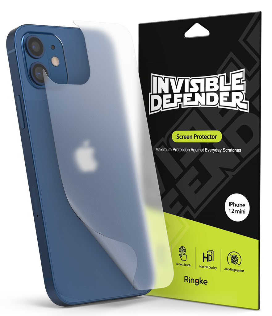 ringke invisible defender iphone 12 mini back screen protector