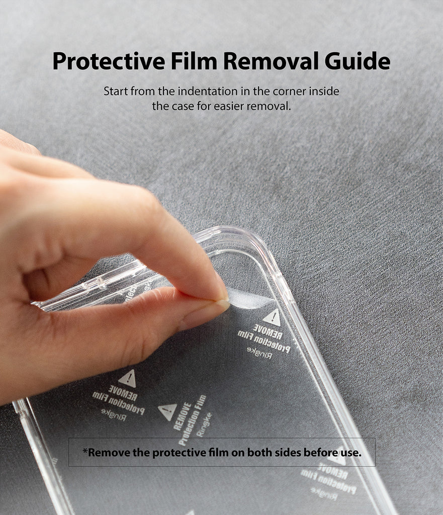Protective Film Removal Guide
