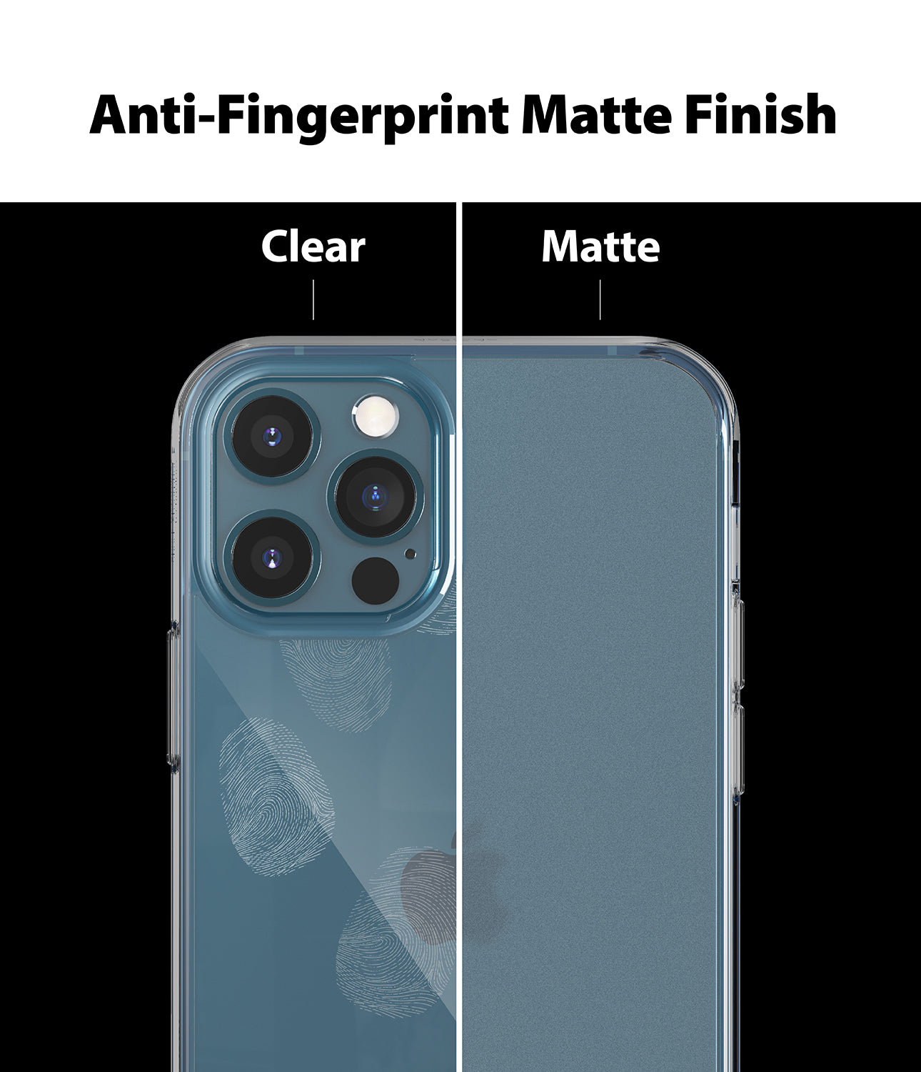 Anti-Fingerprint Matte Finish