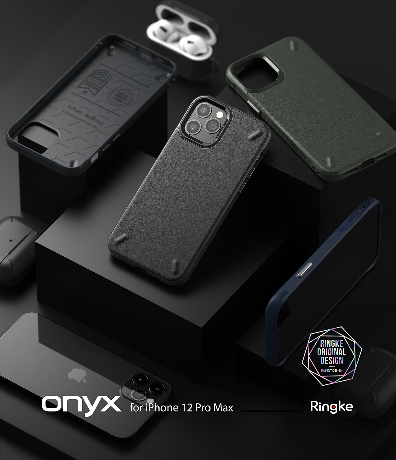iPhone 12 Pro Max Case | Onyx