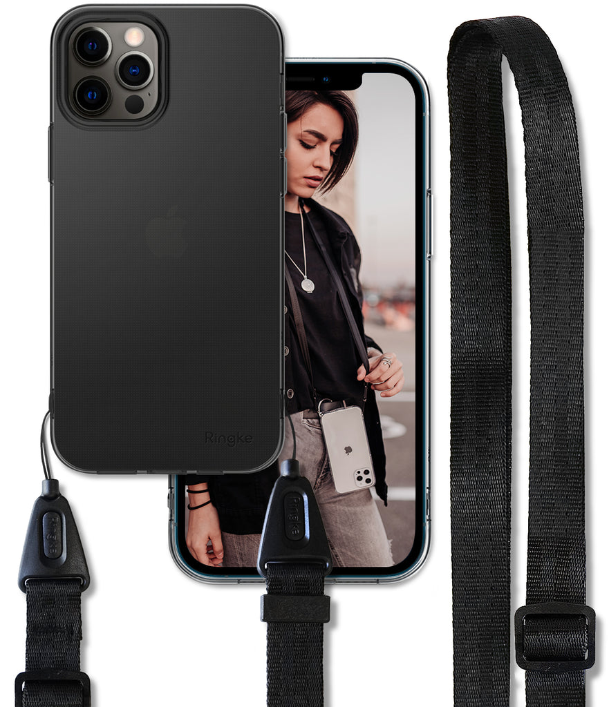 iPhone 12 Pro Max Case | Air + Shoulder Strap