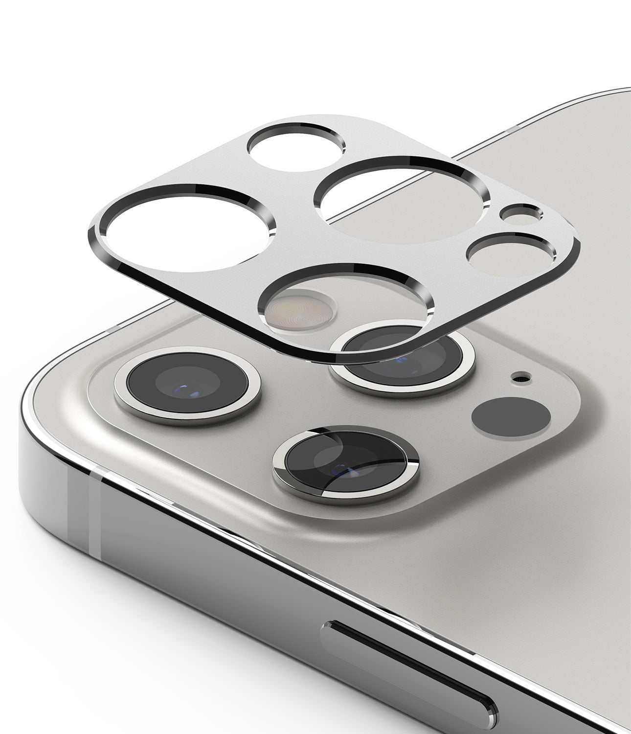 ringke camera styling for iphone 12 pro - silver