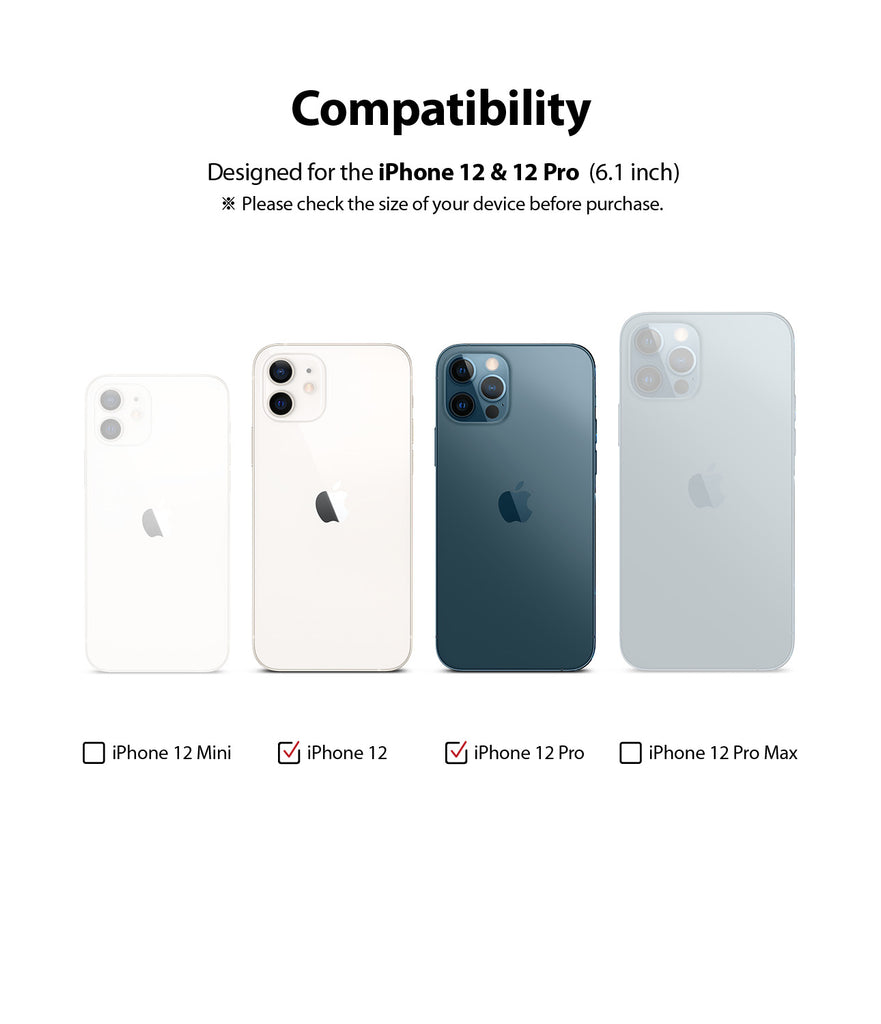 only compatible with iphone 12 / 12 pro