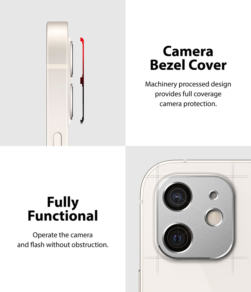 camera bezel cover, fully functional
