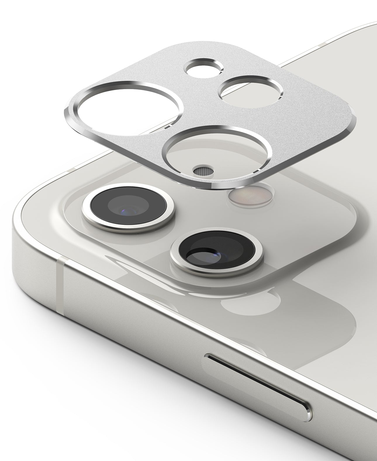 ringke camera styling for iphone 12 - silver