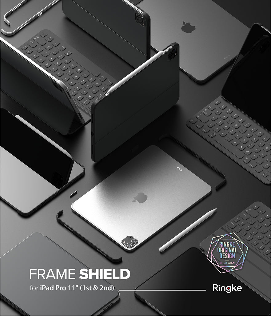 "Ringke Frame Shield Compatible with iPad Pro 11"" (2020)"