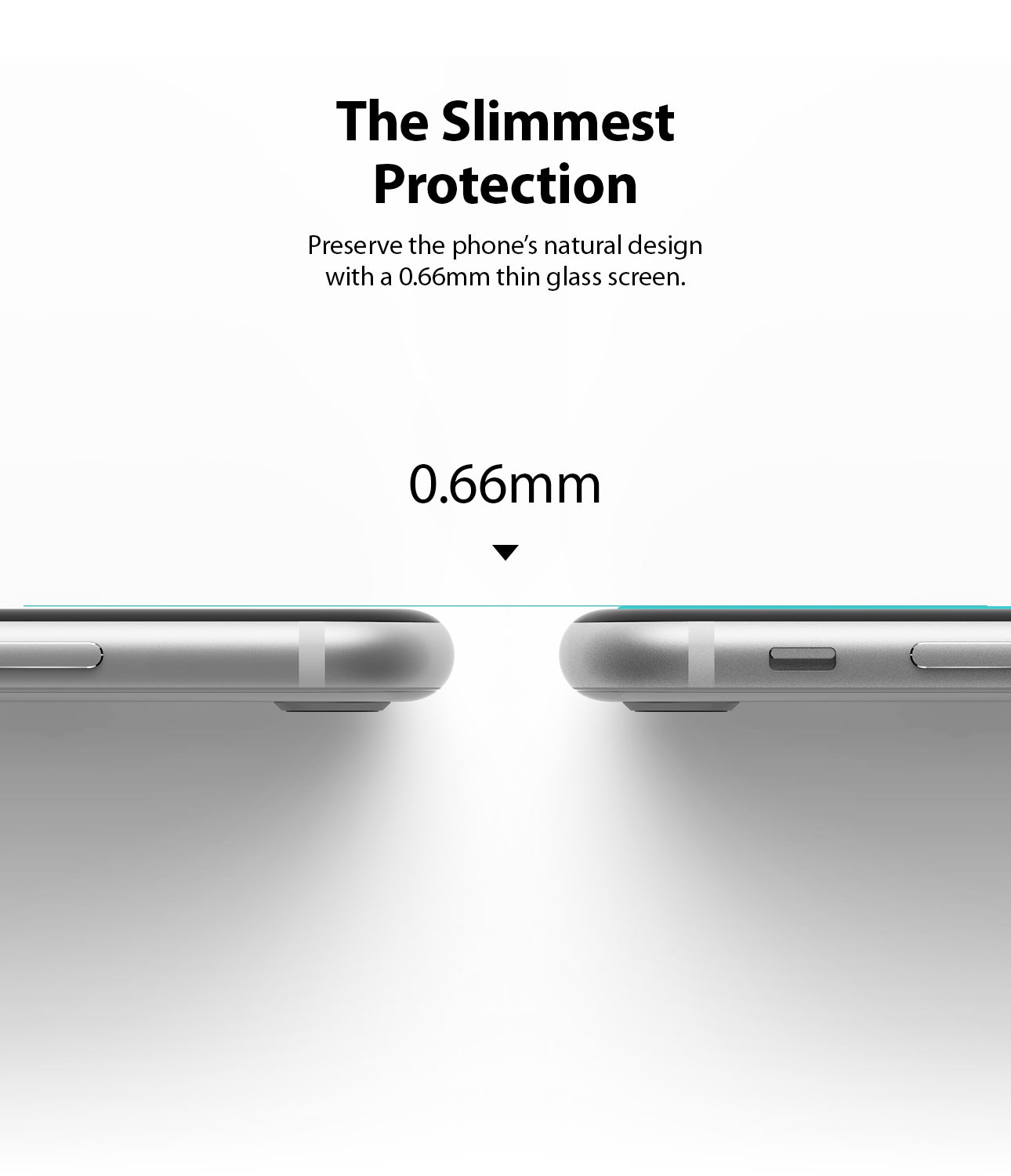 the slimmest protection of  0.66mm