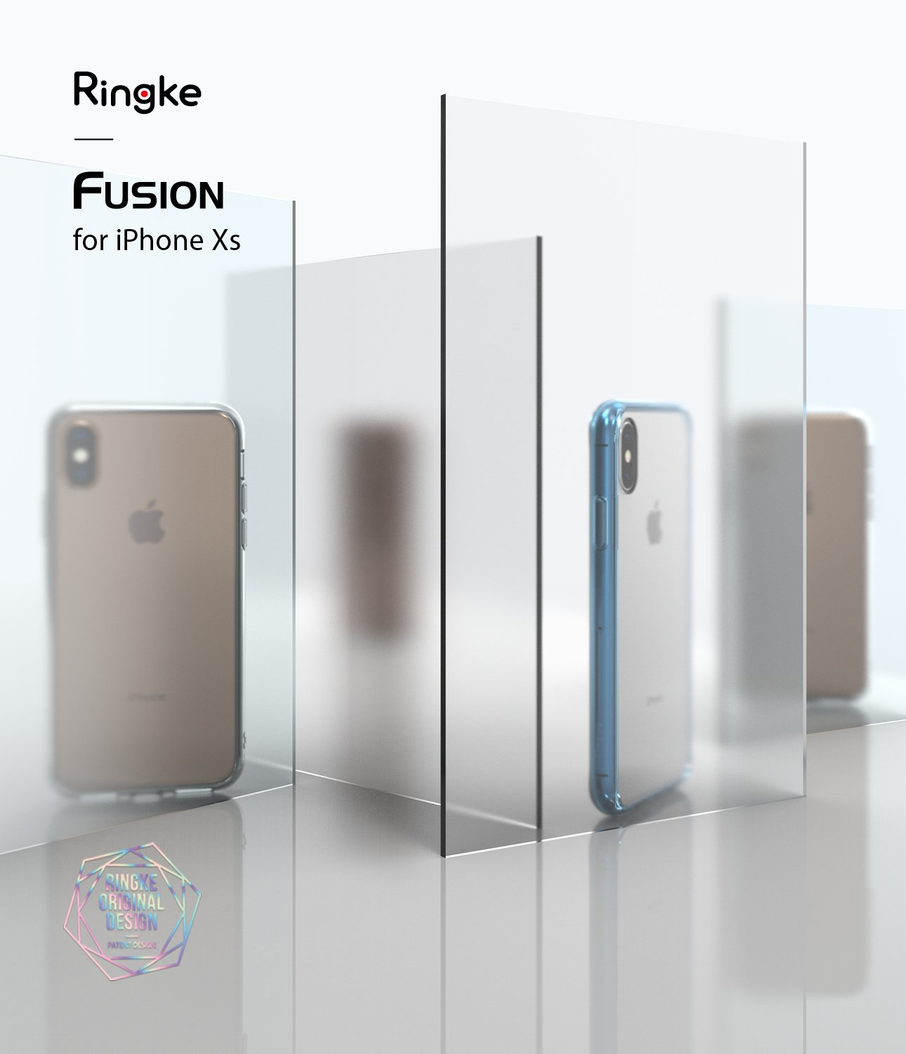 ringke fusion matte for apple iphone xs case cover main
