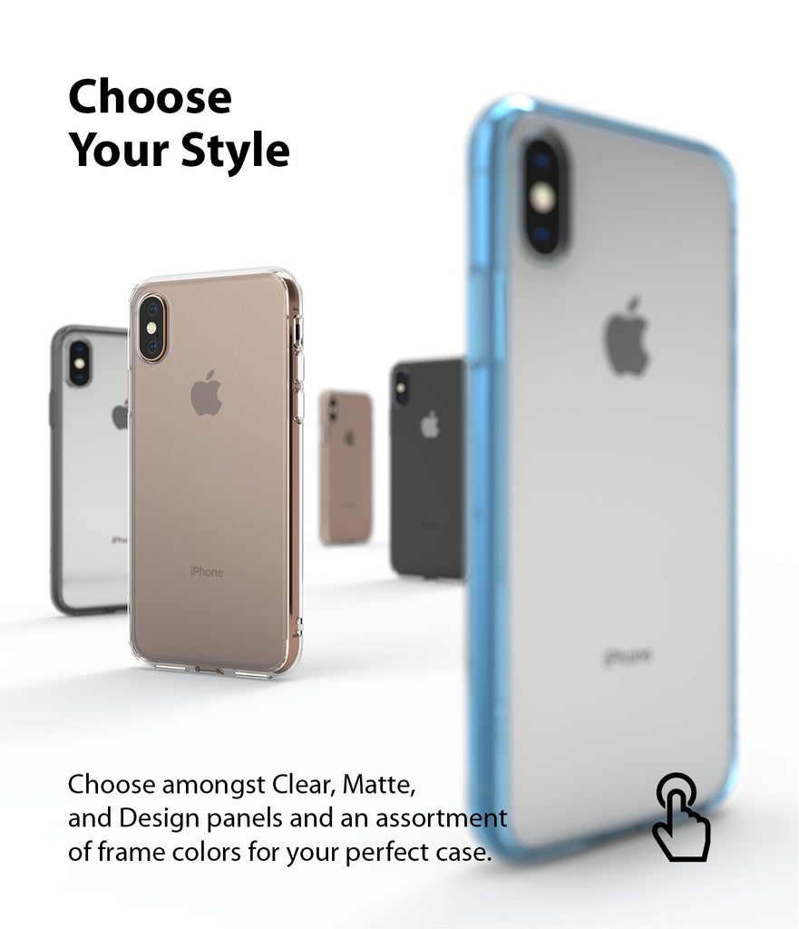 ringke fusion matte for apple iphone xs case cover various style