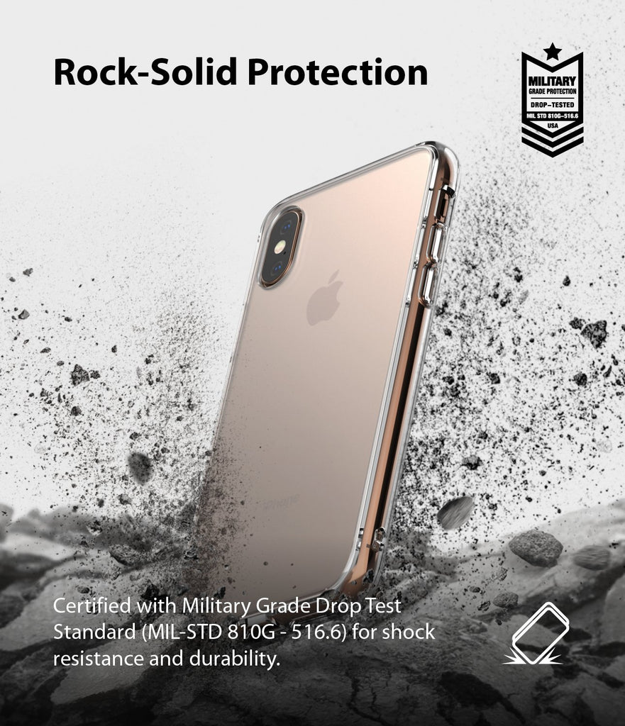 ringke fusion matte for apple iphone xs case cover drop protection