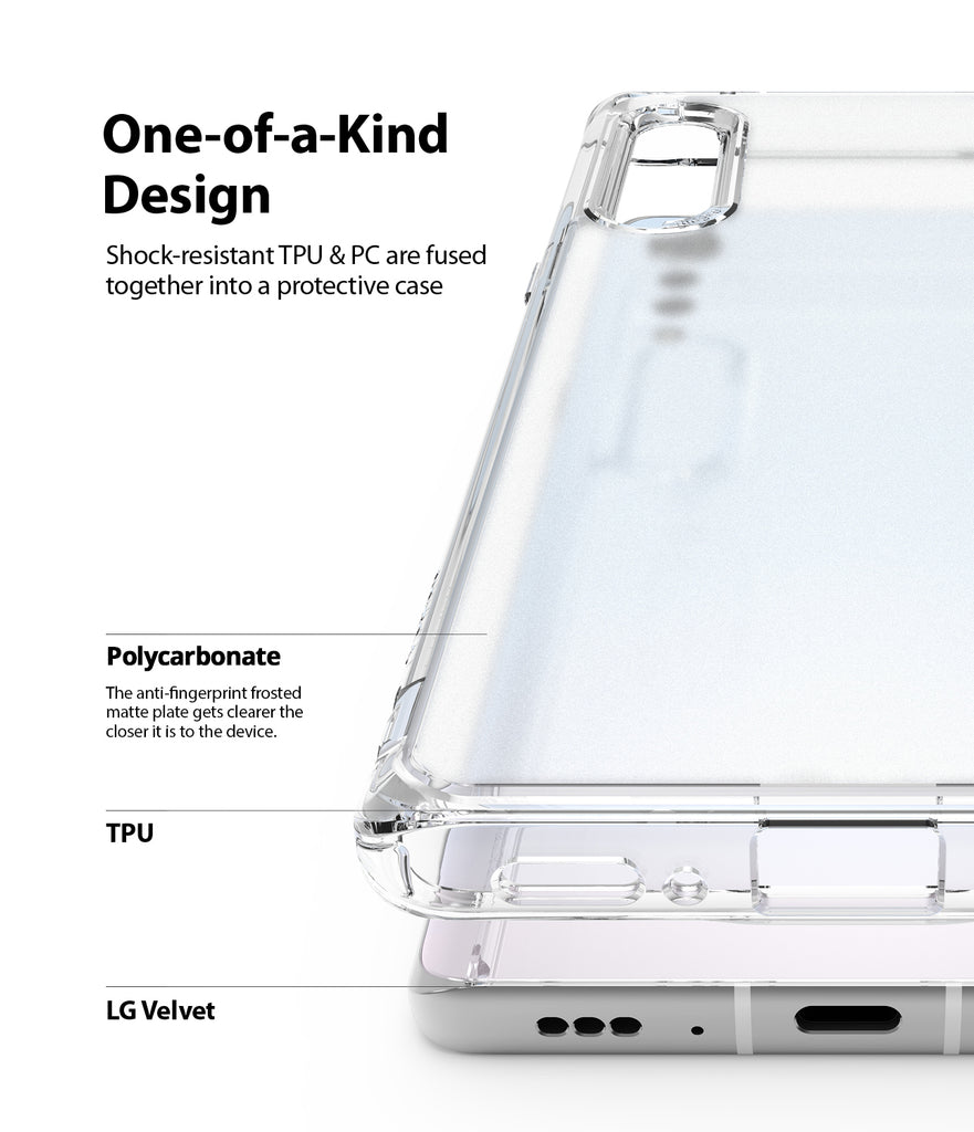 shock-resistant tpu and pc fused together into a protective case