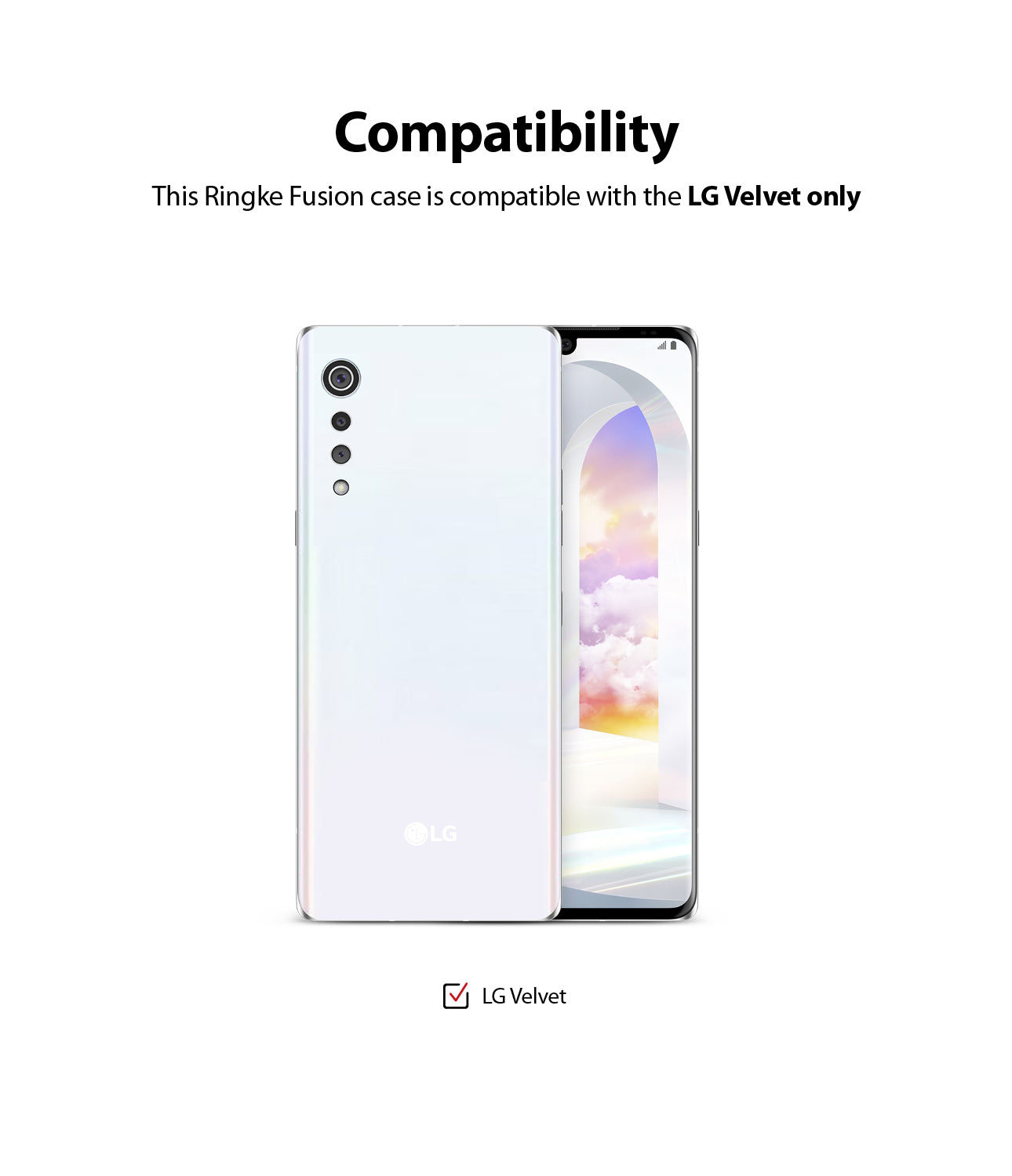 compatible with lg velvet