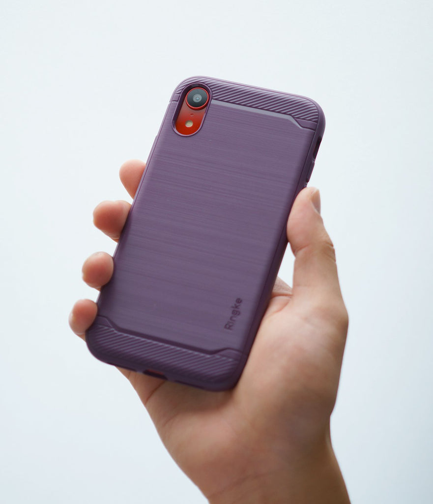 ringke onyx for iphone xr case cover main lilac purple grip