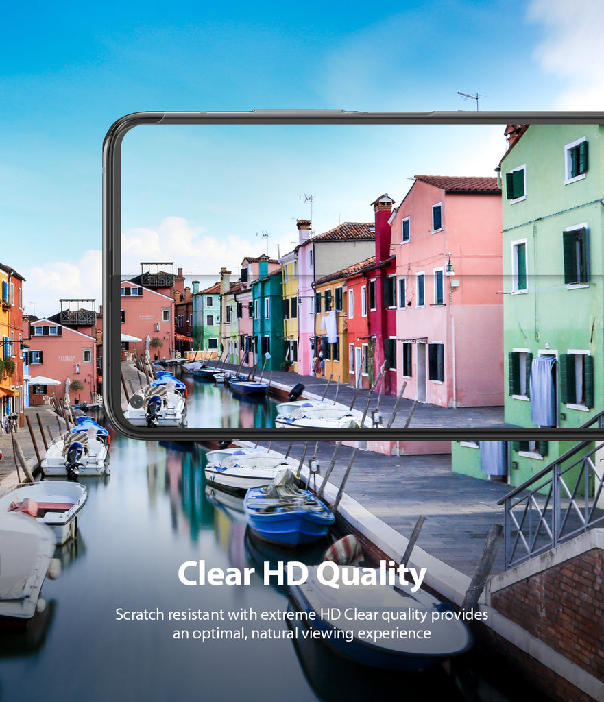 clear hd quality - scratch resistant with extreme hd clear quality provides an optimal, natural viewing exprience