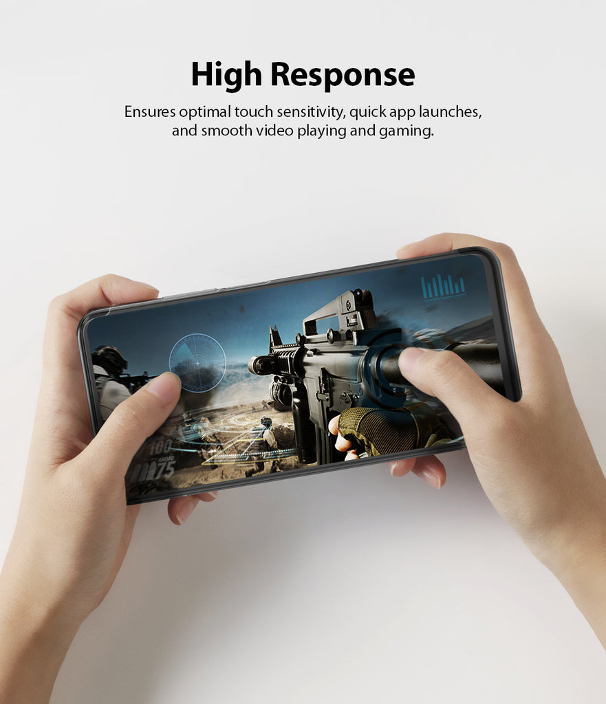 ensures optimal touch sensitivity, quick app launcher, and smooth video playing and gaming