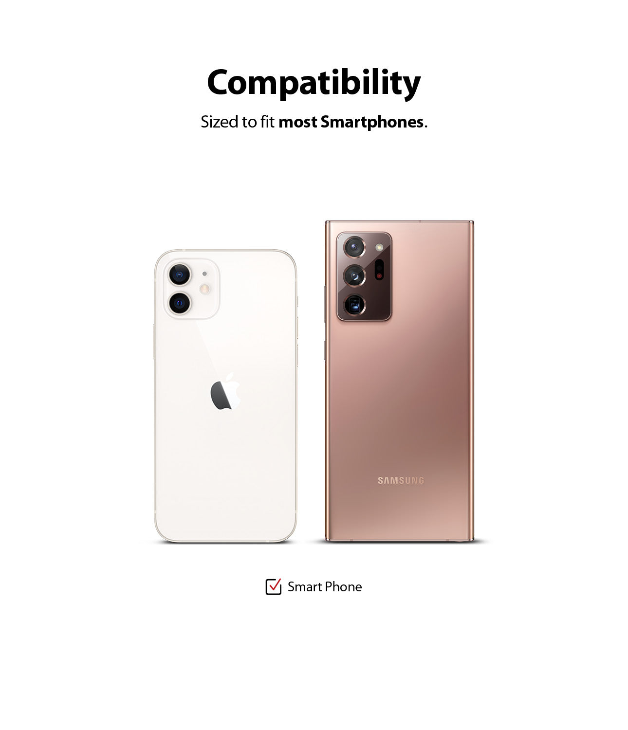 compatible with most smartphones