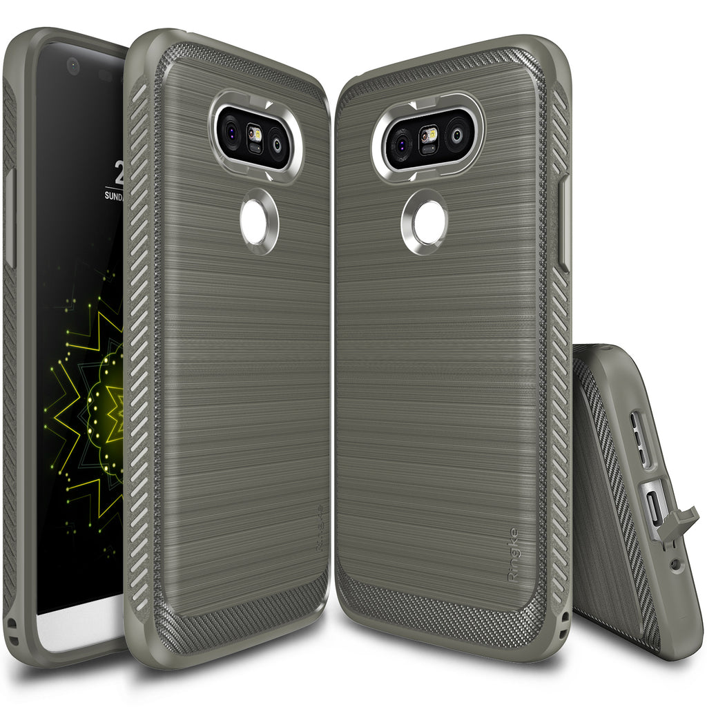 ringke onyx for lg g5 - mist gray