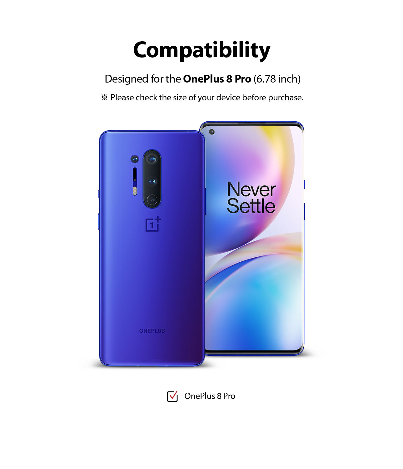 compatible with oneplus 8 pro