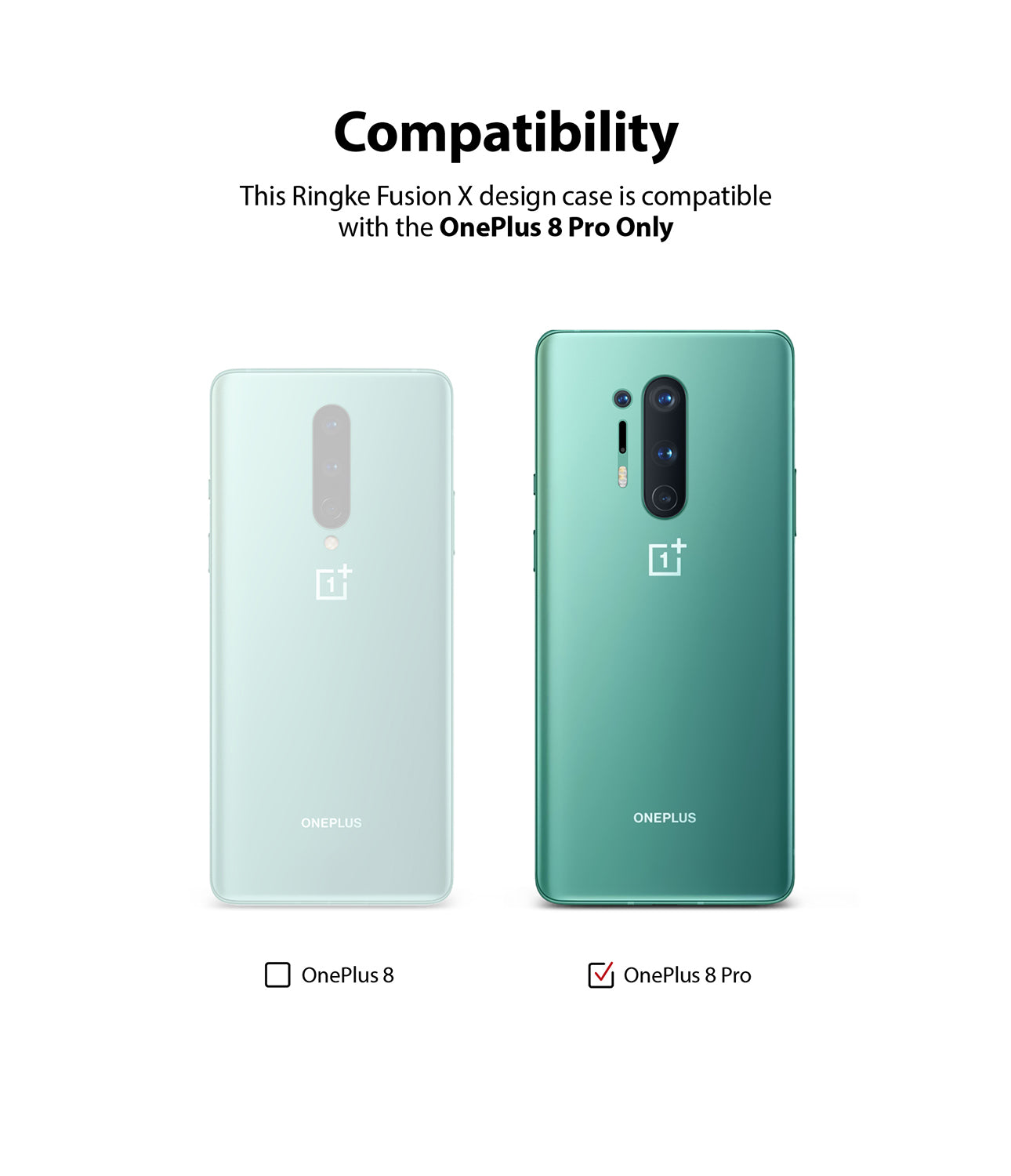 only compatible with oneplus 8 pro