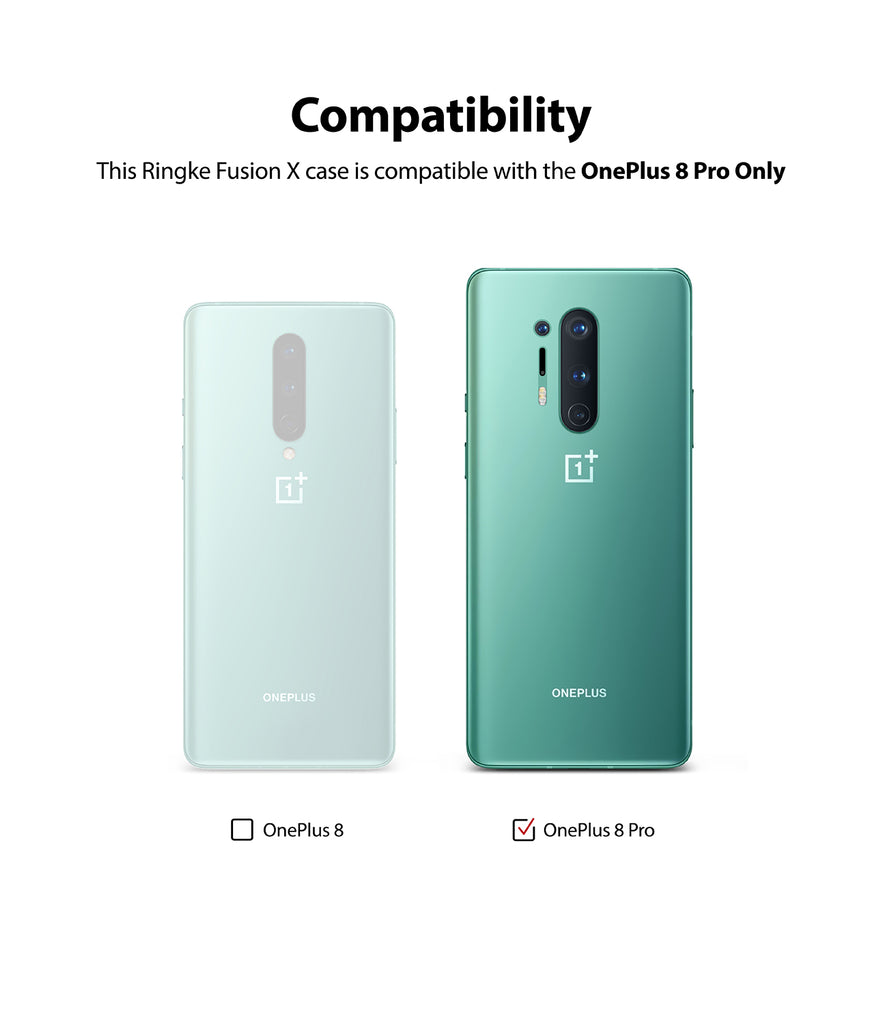 compatible with oneplus 8 pro only