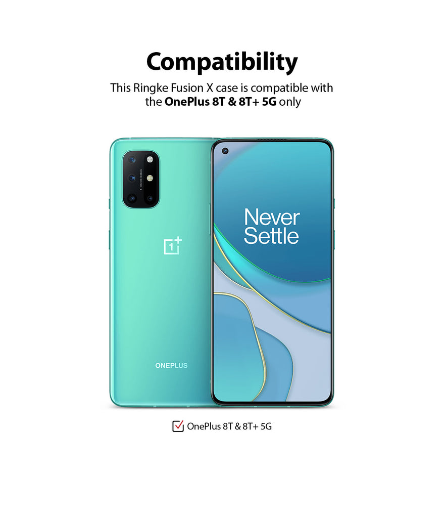 only compatible with oneplus 8t / oneplus 8t plus 5g