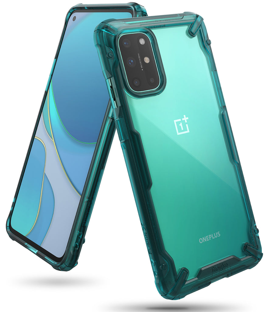 OnePlus 8T / 8T Plus 5G Case | Fusion-X TURQUOISE GREEN