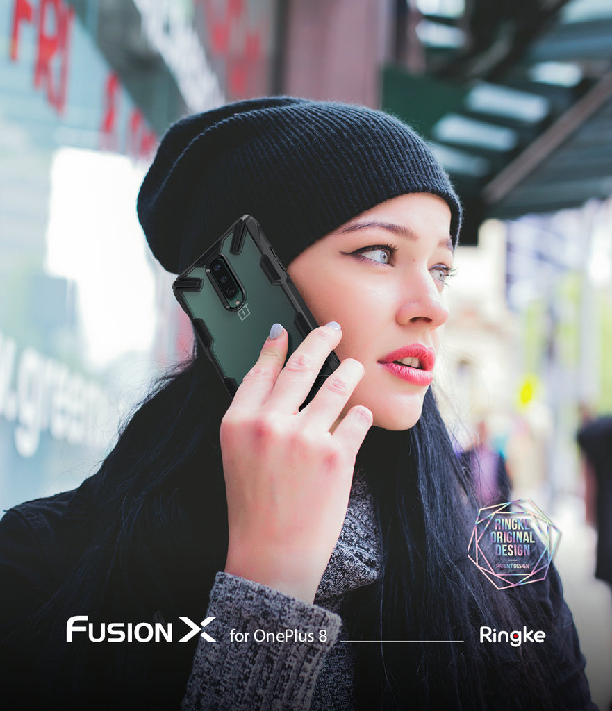 ringke fusion-x designed for oneplus 8
