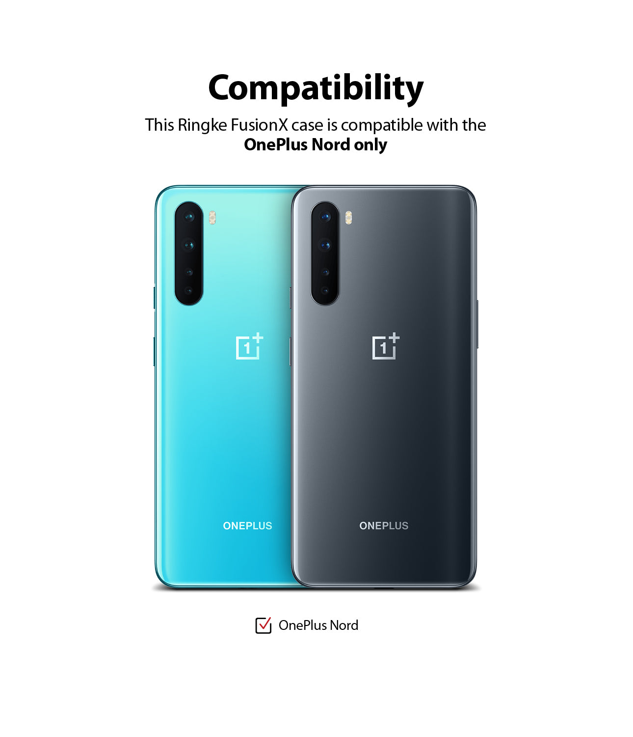 compatible with only oneplus nord