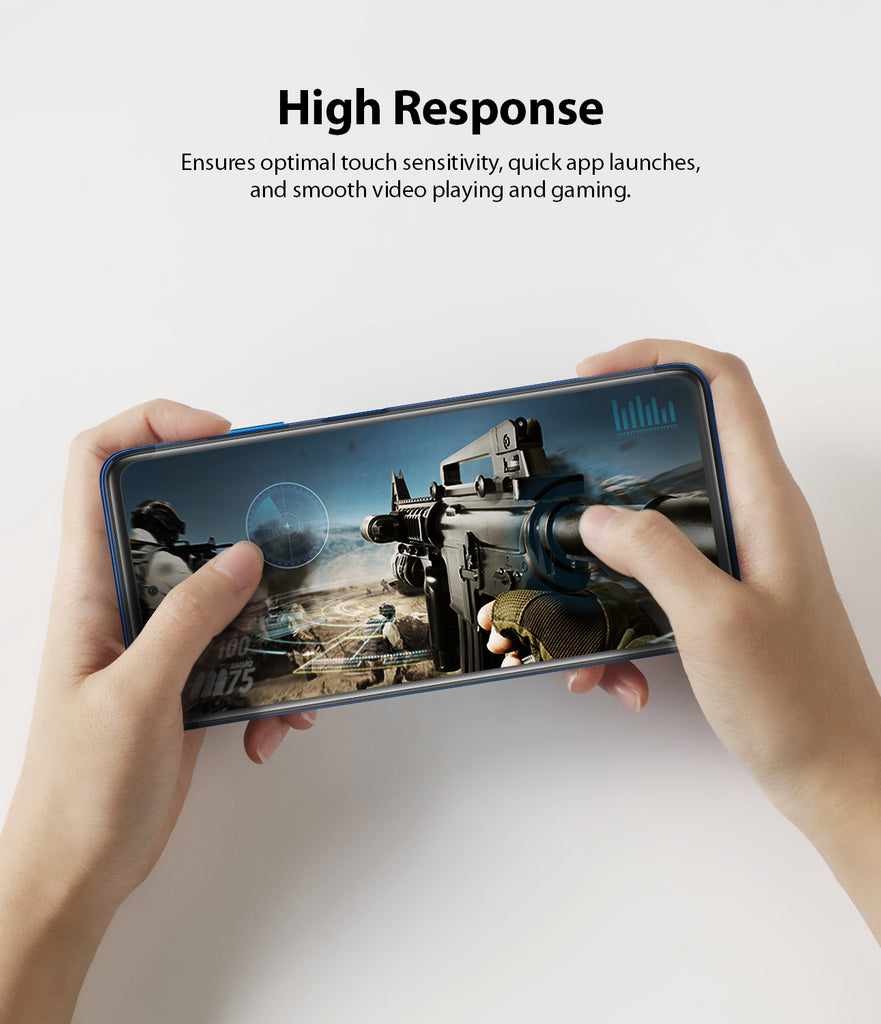 ensures optimal touch sensitivity, quick app launches, and smooth video playing and gaming