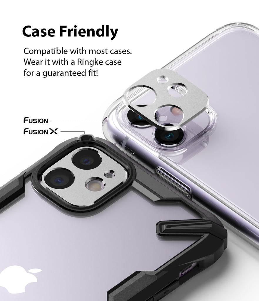 compatible with most cases. Wear it with a ringke case for a guarenteed fit