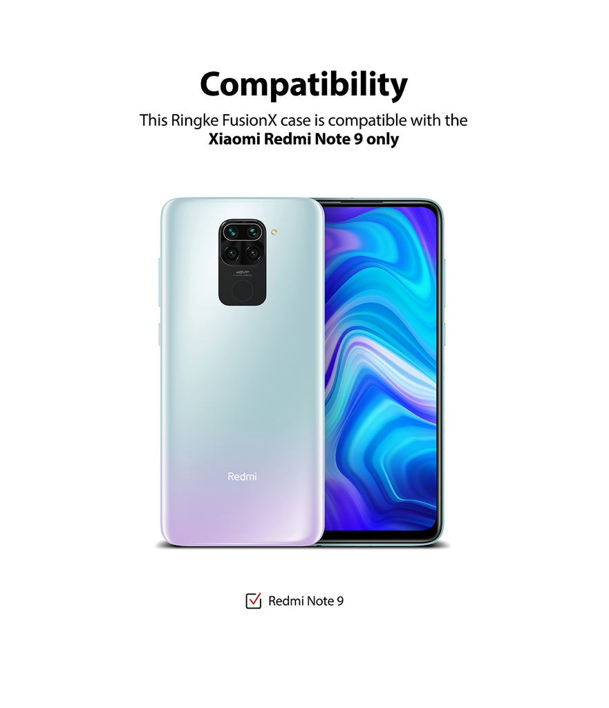 only compatible with xiaomi redmi note 9