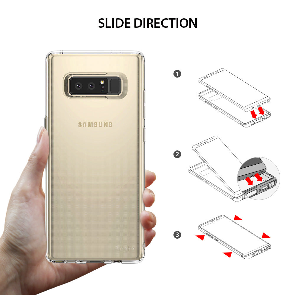 samsung galaxy note 8 ringke air case case