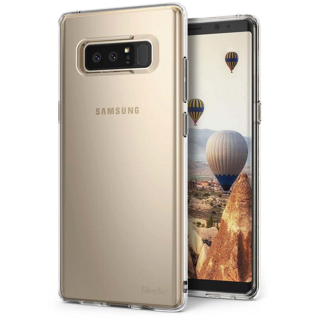 samsung galaxy note 8 ringke air case case rose gold crystal
