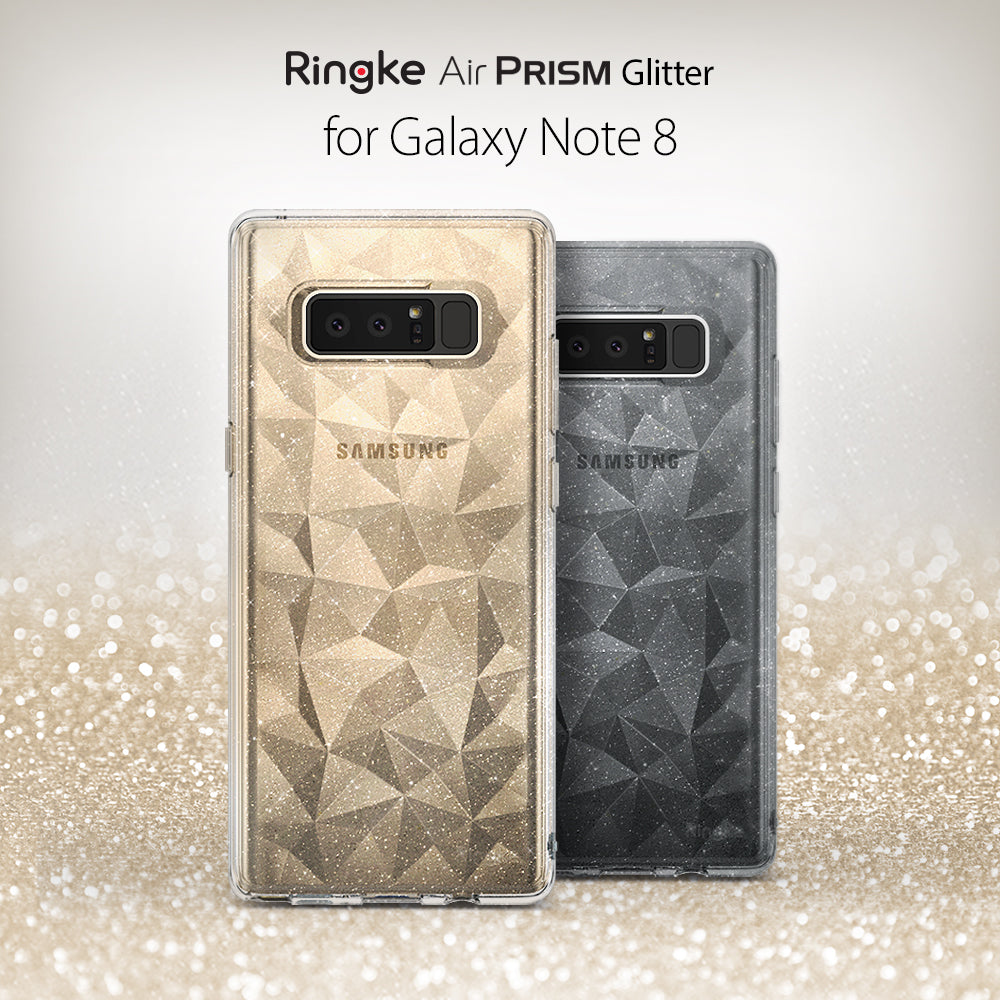Galaxy Note 8 Case | Air Prism Glitter