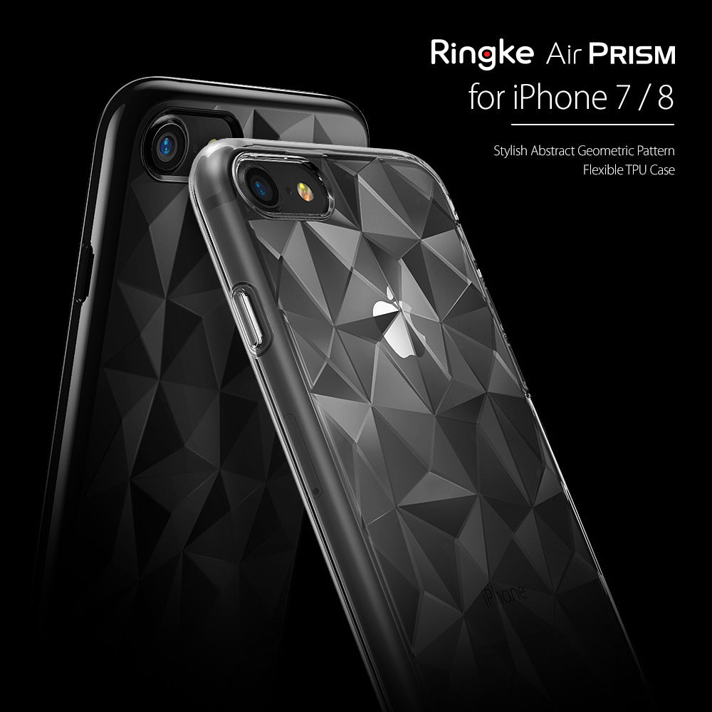 ringke air prism 3d pyramid design back case cover for iphone 7 8 main
