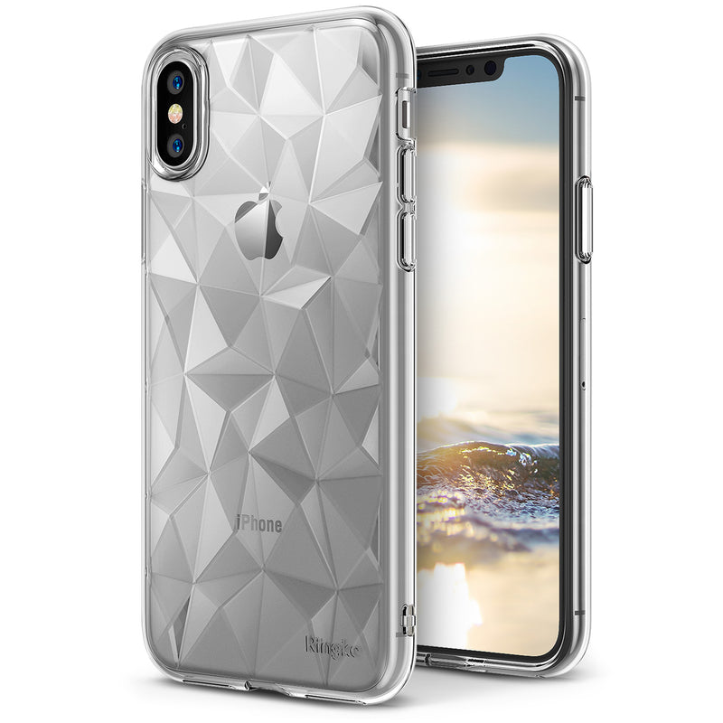 apple iphone x ringke air case prism case clear