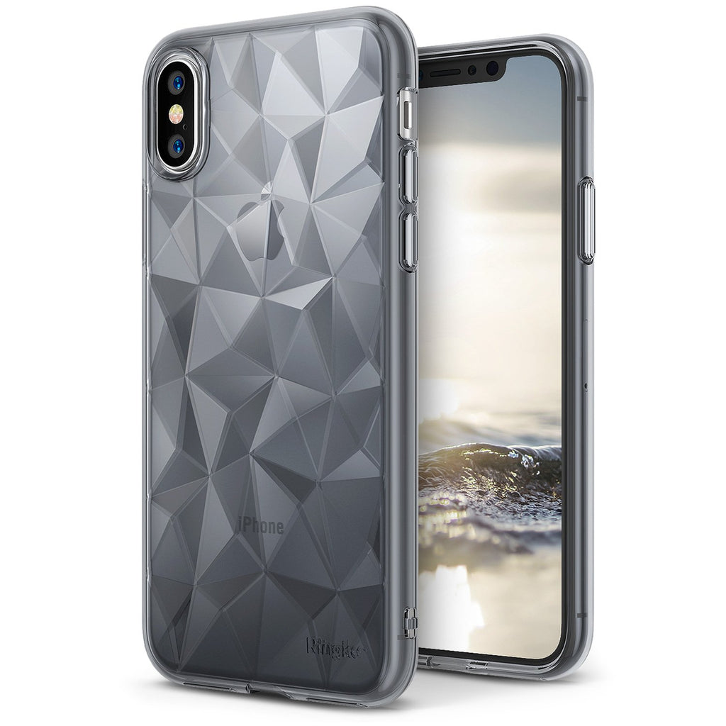 ringke air prism for iphone x case cover main smoke black