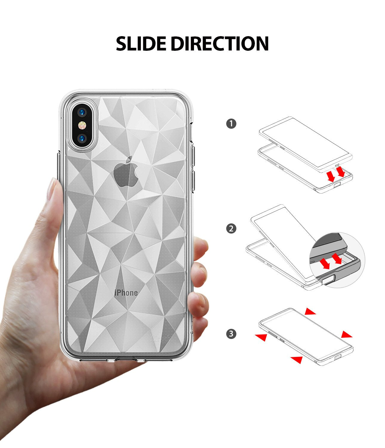 ringke air prism for iphone xs case cover easy installation