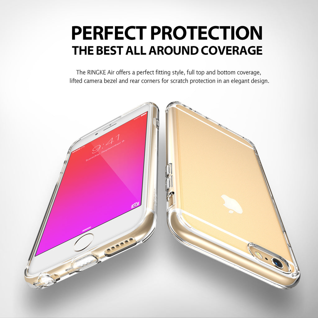 ringke air lightweight thin slim case cover for iphone 6 plus 6s plus main perfect protection