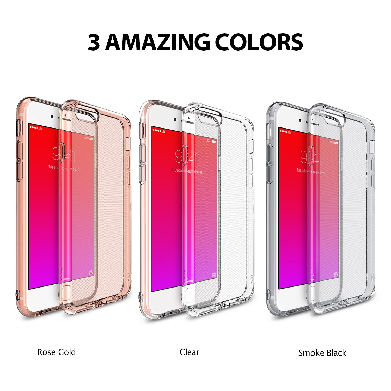 ringke air lightweight thin slim case cover for iphone 6 plus 6s plus main colors