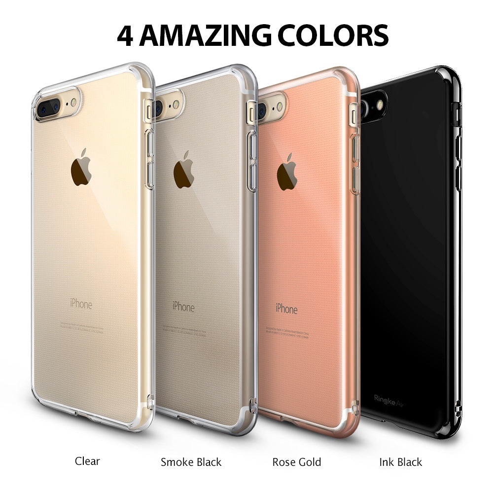 ringke air lightweight flexible tpu thin case cover for iphone 7 plus 8 plus main colors
