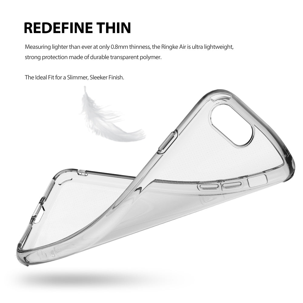 ringke air lightweight flexible tpu thin case cover for iphone 7 plus 8 plus main flexible design