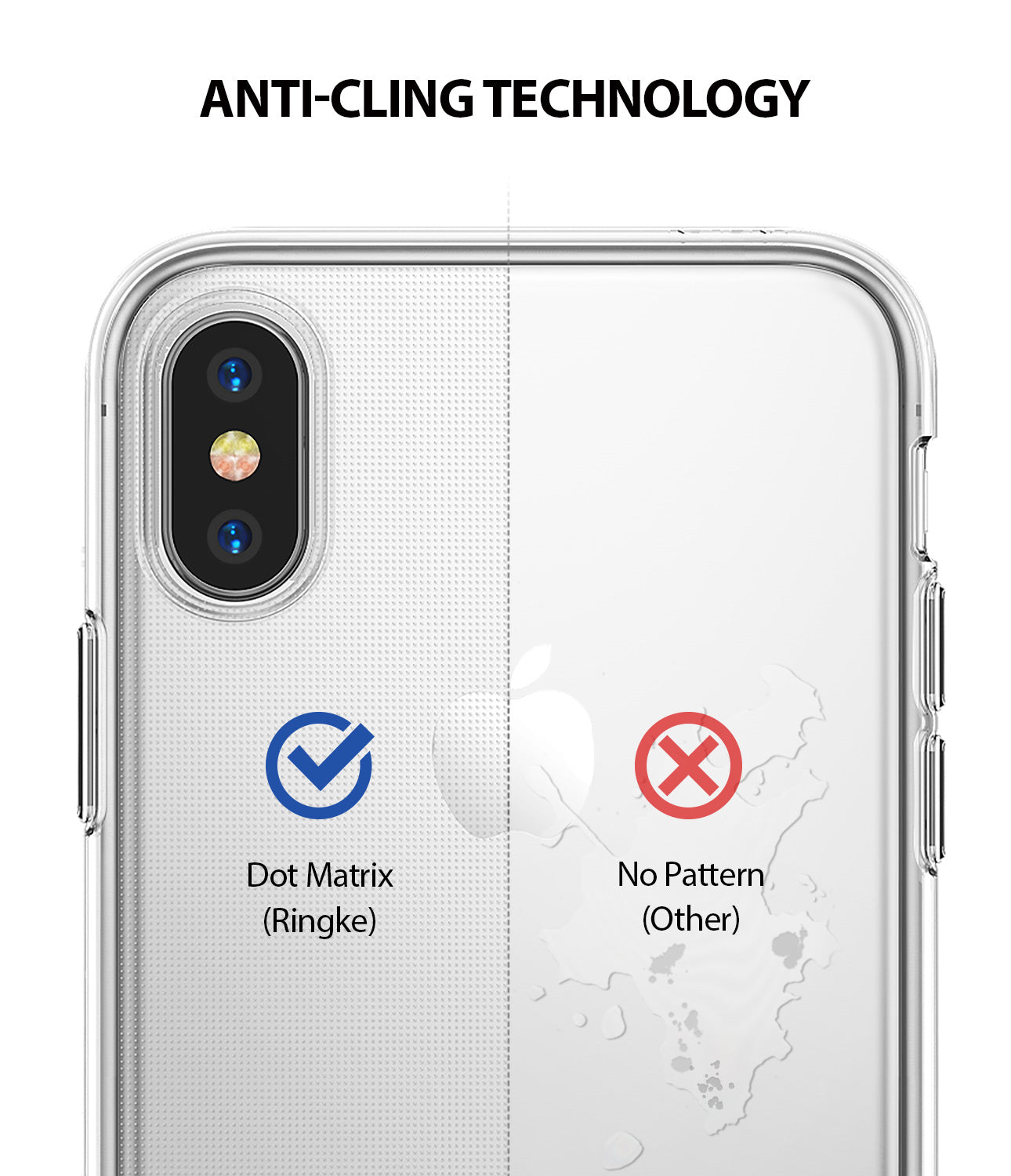 ringke air for apple iphone xs case cover anti cling technology