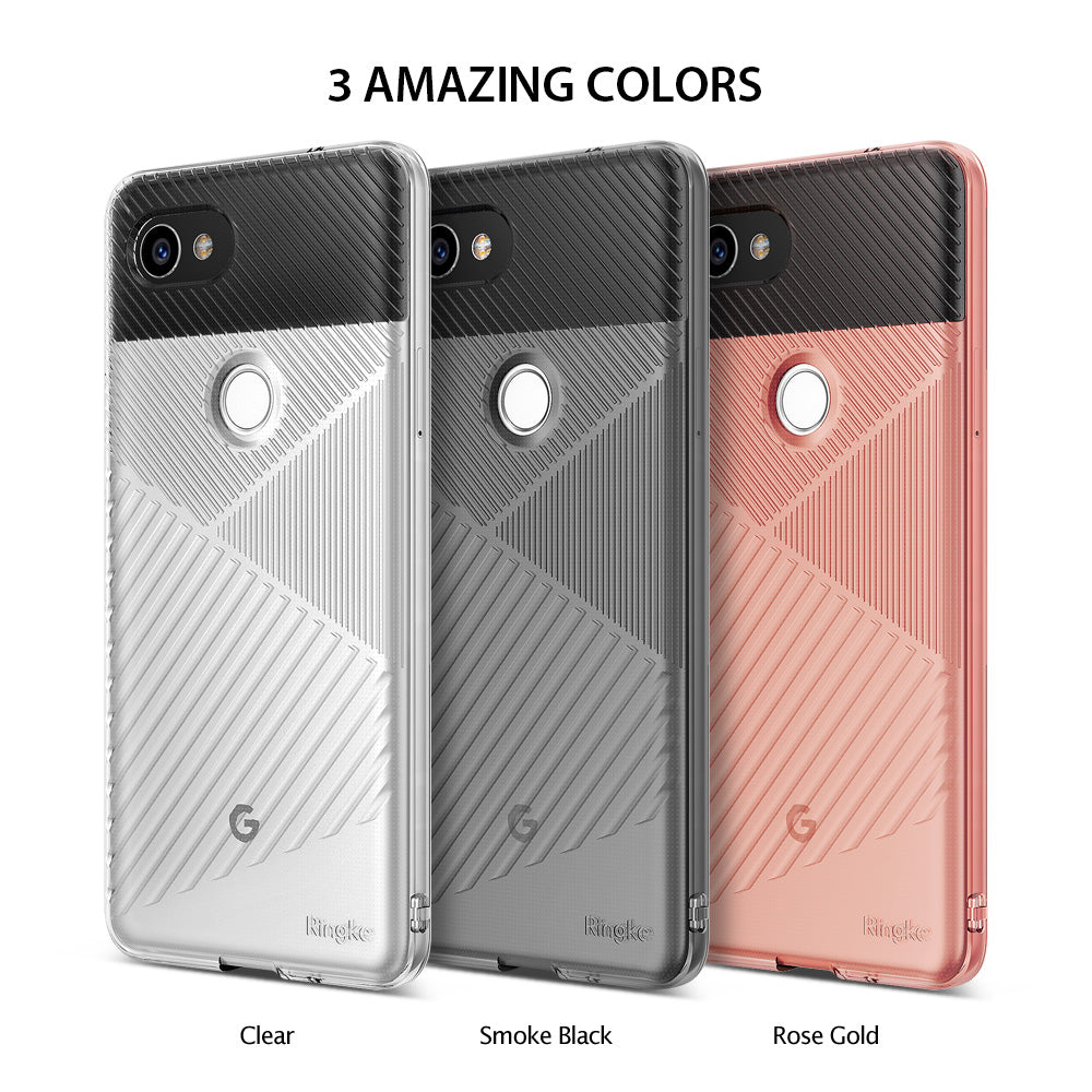 ringke bevel designed thin lightweight tpu case cover for google pixel 2 xl main colors